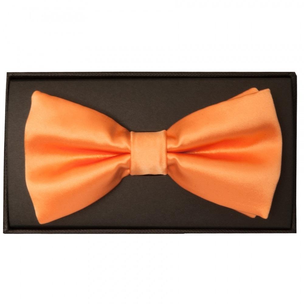 decc0739857f Plain Orange SALE Mens Bow Tie   Bow Tie  Dickie Bow Wedding Prom