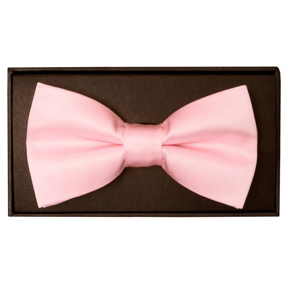 e50361f0b678 Plain Blush Pink Mens Bow Tie | Bow Tie | Dickie Bow Wedding Bow Tie
