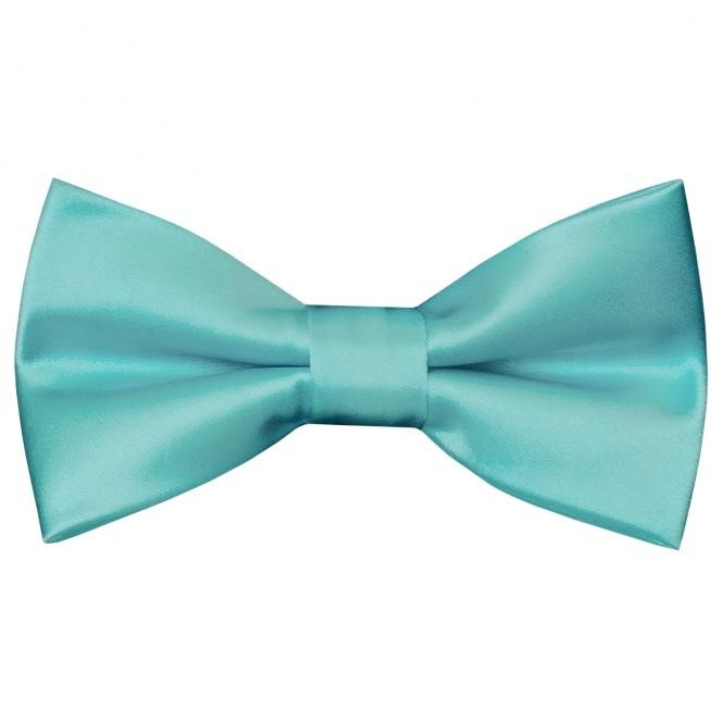 3ee99a5ba67 Pre Tied Tiffany Blue Boys Bow Tie Age 8-11