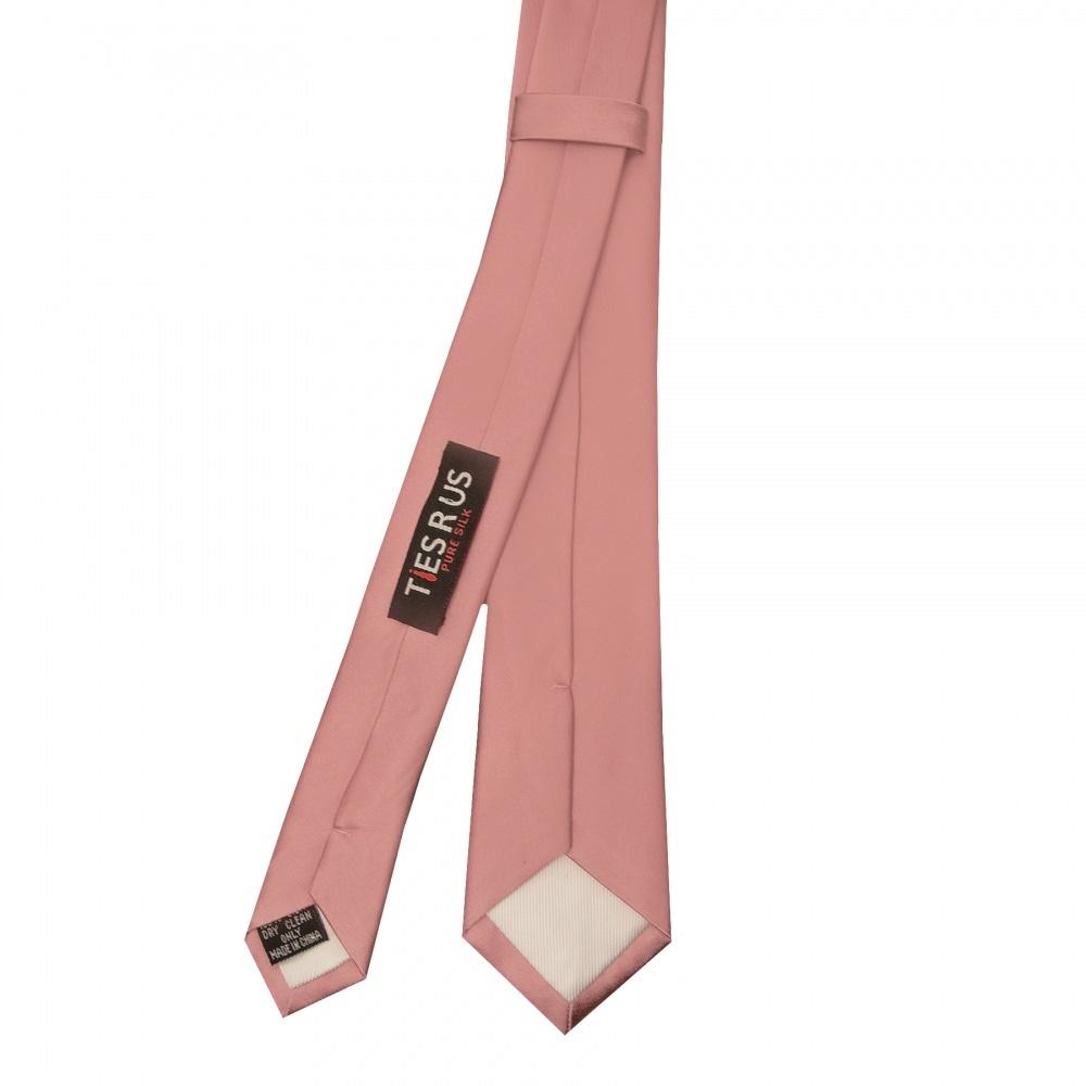 Rose Gold Paisley Skinny Men/'s Tie and Pocket Square Set Slim Tie Thin Tie