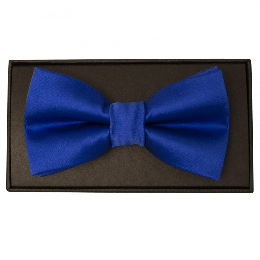 86dde7588b77c Royal Blue Mens Bow Tie   Dickie Tie   Bow Tie and Handkerchief Set